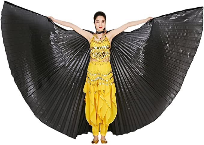 close back /& open back Free shipping to USA . Isis wings Egyptian Belly Dance