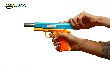Semi Automatic Soft Bullet Pistol Gun Toys Mauser M1911 Classic Nerf Pistol  Children's toy guns plastic