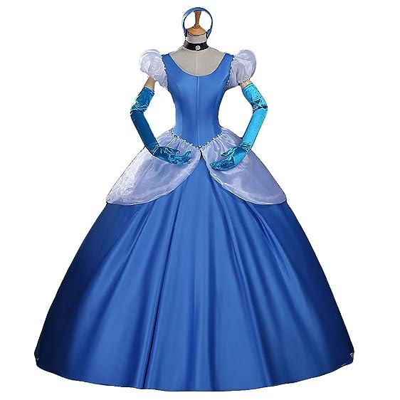 Amazon.com: Halloween Costume Adult Women\'s Deluxe Animated Princess ...
