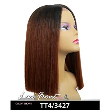 Amazon.com   Bobbi Boss MLF136 Yara Lace Front Wig (TT4 3427)   Beauty 900872e6d
