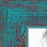 ArtToFrames 14×24 inch Aqua Rustic Barnwood Wood Picture Frame, 2WOM0066-77900-YAQU-14×24 For Sale