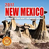 2017 Monthly Wall Calendar - New Mexico- 210 Free Reminder Stickers