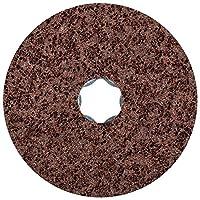 "PFERD 48094 Combiclick Non-Woven Disc, Hard Type, 4"" Diameter, 12,000 rpm, Coarse Grit (Pack of 10)"