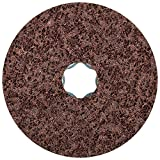 PFERD 48094 Combiclick Non-Woven Disc, Hard Type, 4'' Diameter, 12,000 RPM, Coarse Grit (Pack of 10)