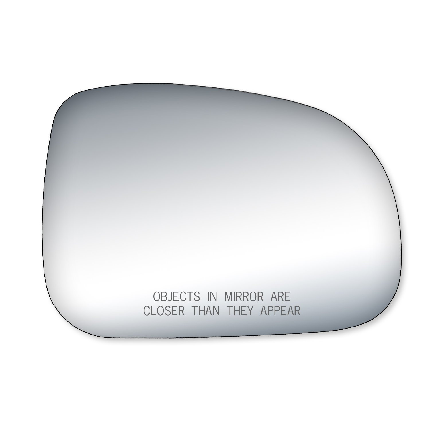 Fit System 90259 Grand Prix Passenger Side Replacement Mirror Glass