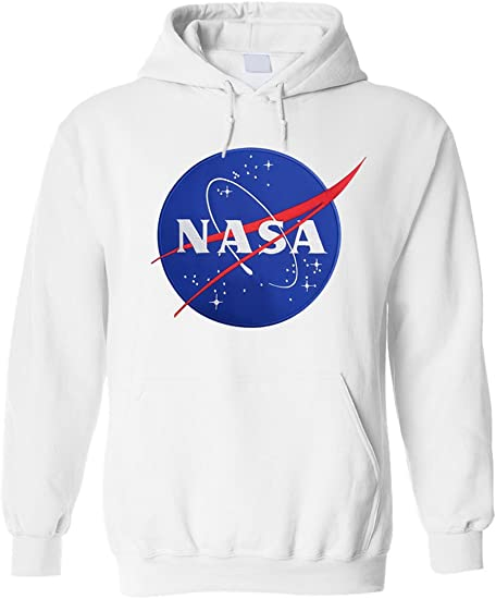 starboyshop224 NASA Space Agency Patch Brodé Sweat à Capuche