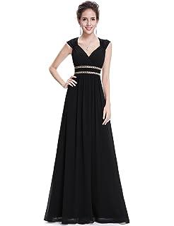 e68e1735923 Ever-Pretty Women s Elegant V-Neck Sleeveless Formal Long Evening Dress  08697