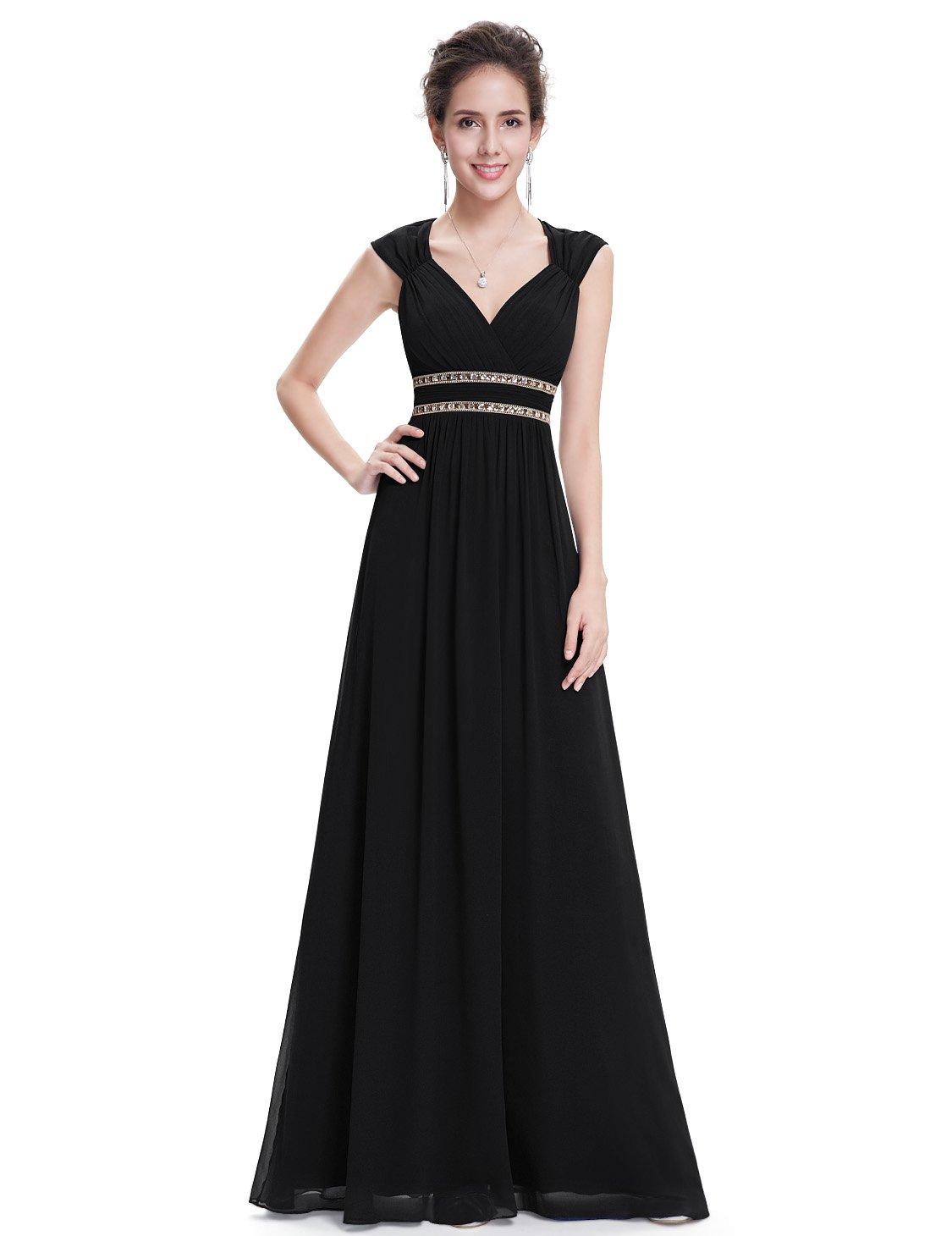 Ever-Pretty Vestido de Fiesta Noche Elegante con Cuello en V para Mujer 08697 product image