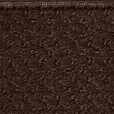 House, Home and More Skid-Resistant Carpet Runner - Chocolate Brown - 4 Feet X 27 Inches