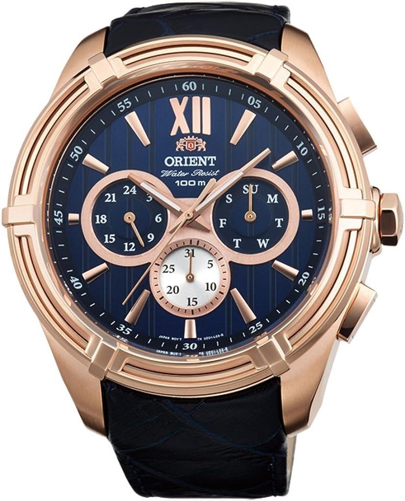 Orient Sportyクォーツ100 M Heavyスポーツ時計ローズゴールドuz01006d