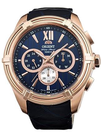 651b95242 Amazon.com: ORIENT Sporty Quartz 100M Heavy Sport Watch Rose Gold ...