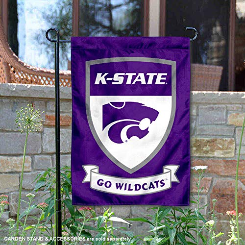 College Flags and Banners Co. Kansas State Wildcats Shield Garden Flag