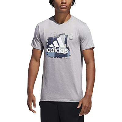 adidas Men's Badge of Sport Sport Layer Tee: Sports & Outdoors
