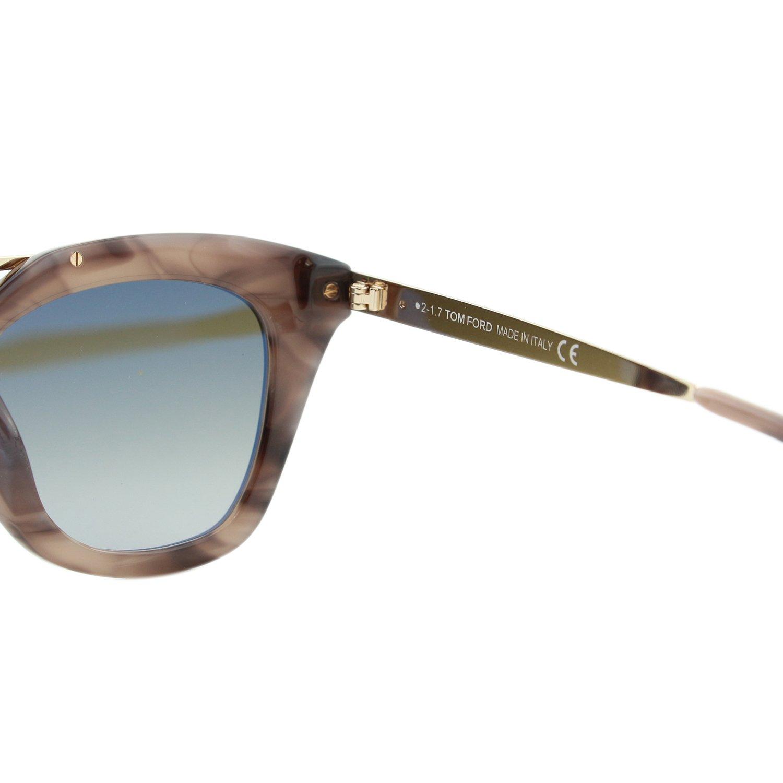 8d00b9611df1f Sunglasses Tom Ford FT 0575 Anna- 02 55K Coloured Havana   Gradient Roviex  at Amazon Men s Clothing store