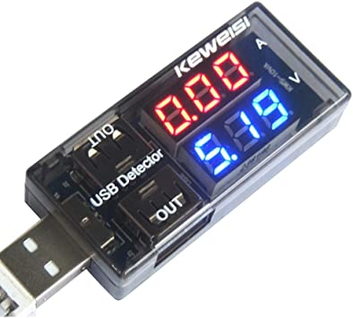 1PCUSB Charger Battery Doctor Mobile Power Detector Tester Voltage Current Meter