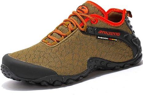 LHY HIKING Zapatillas de Deporte, Zapatillas de Deporte Antideslizantes Arena Mesh para Hombre Zapatillas de Running Todoterreno Zapatillas de Deporte Walking Athletic: Amazon.es: Deportes y aire libre