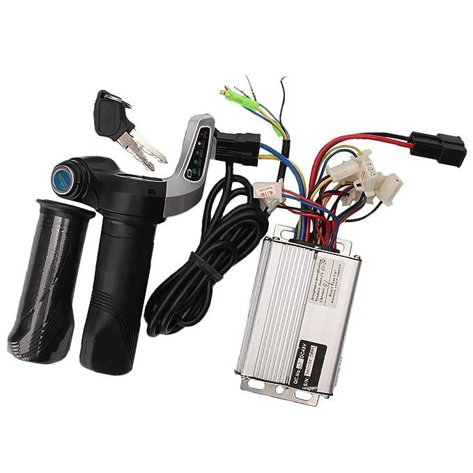 sharplace Motor cepillo controlador de velocidad + Patinete ...