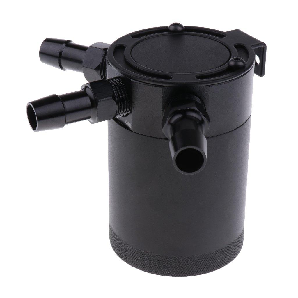 Sharplace Aluminium Ö l Reservoir Catch Ö l Auffangbehä lter Ö l Ausgleichbehä lter Ö lsammler Oil Catch Tank