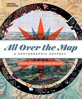 Book Cover: All Over the Map: A Cartographic Odyssey