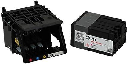j2ink 1 unidades 950 951 cabezal de impresión para HP cm751 ...
