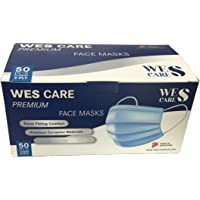 [50Pcs] Wes Care 3Ply Premium Face Mask | Made in Singapore | UV Clean, Soft & Comfortable, Easy to Breathe | Ships from…