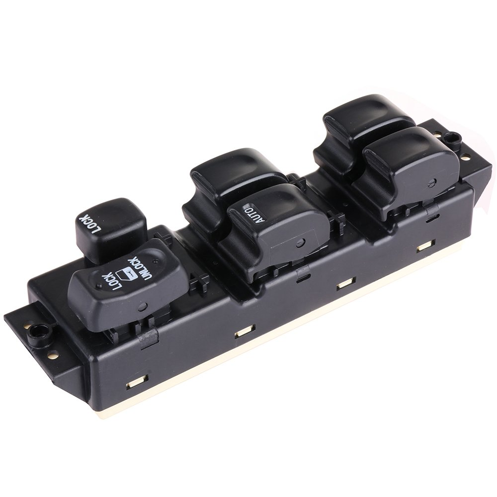 Replacement fit for Honda Passport Isuzu Axiom Isuzu Rodeo Master Power Window Switch Front Left Driver Side Control Switch cciyu 121557-5210-0945181
