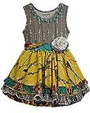 Mustard Pie Baby Girls' Mia Sunset Dunes Tunic 12MOS Turquoise
