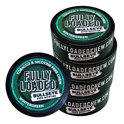 5 Pack - Tobacco and Nicotine Free Wintergreen Flavored Chew ()