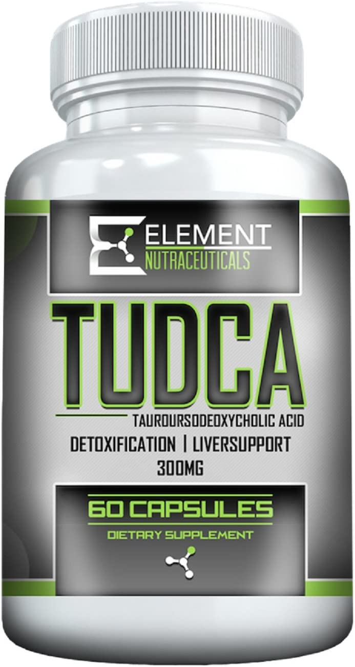 TUDCA 300mg x 60ct by Element Nutraceuticals