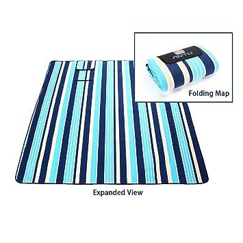 UMsky Manta de picnic, extra grande, camping & al aire libre, impermeable