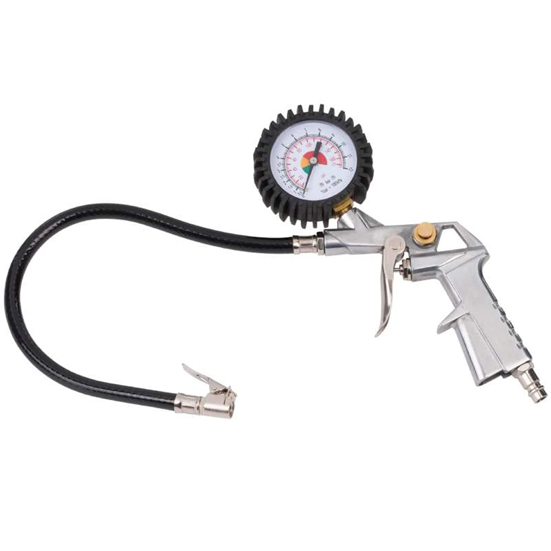 Pistola de hinchado con man/ómetro POWERPLUS POWAIR0100