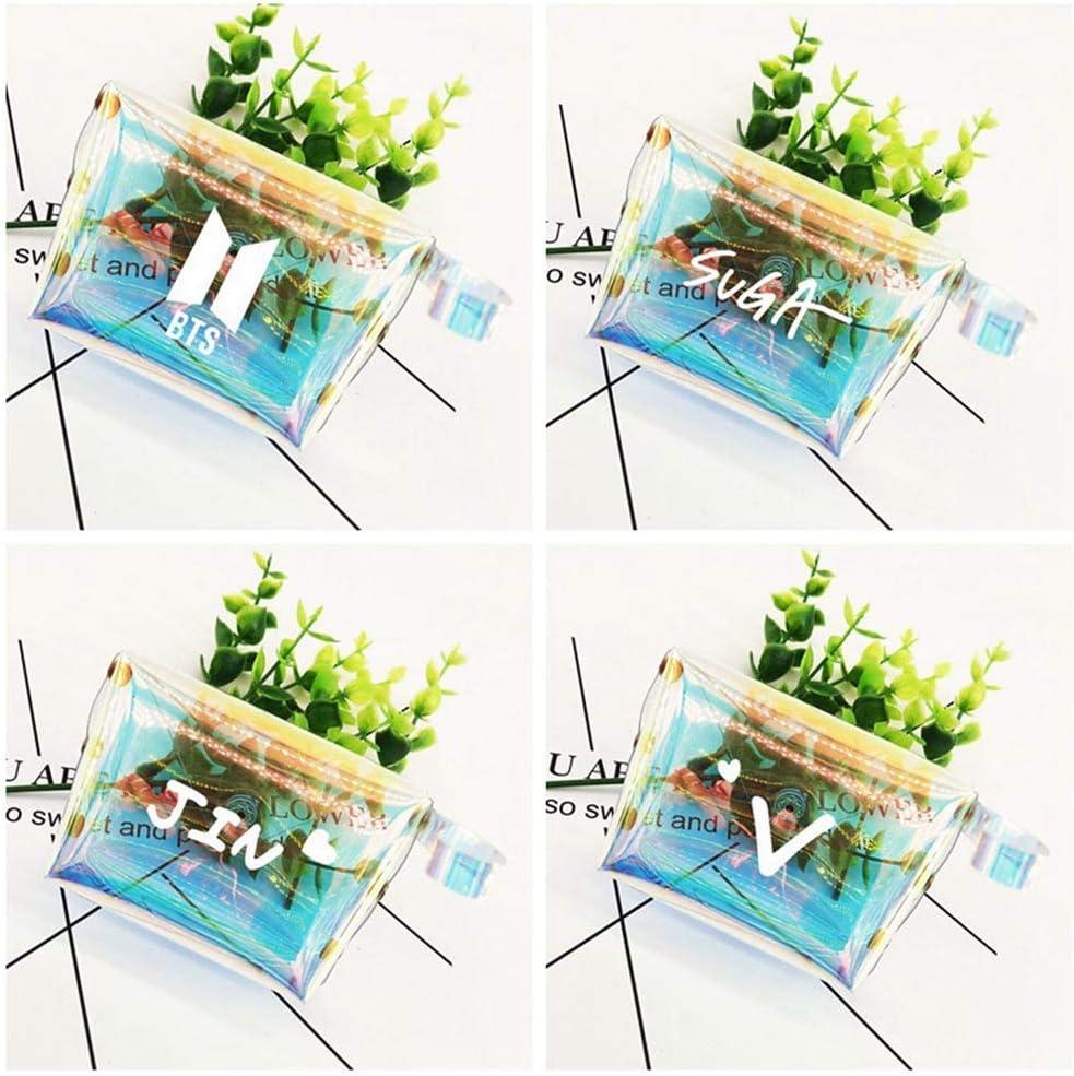 R.M Fingertoys Bottes Transparent Porte-Monnaie,Femme Portefeuilles Mode Changer Pochette Petit Mignon Carte Support Cl/é Argent Mini Sac Meilleur Cadeau pour A Style 04