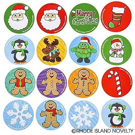 ZCASTRL Rhode Island Novelty Holiday Sticker Rolls One set of 500 Stickers