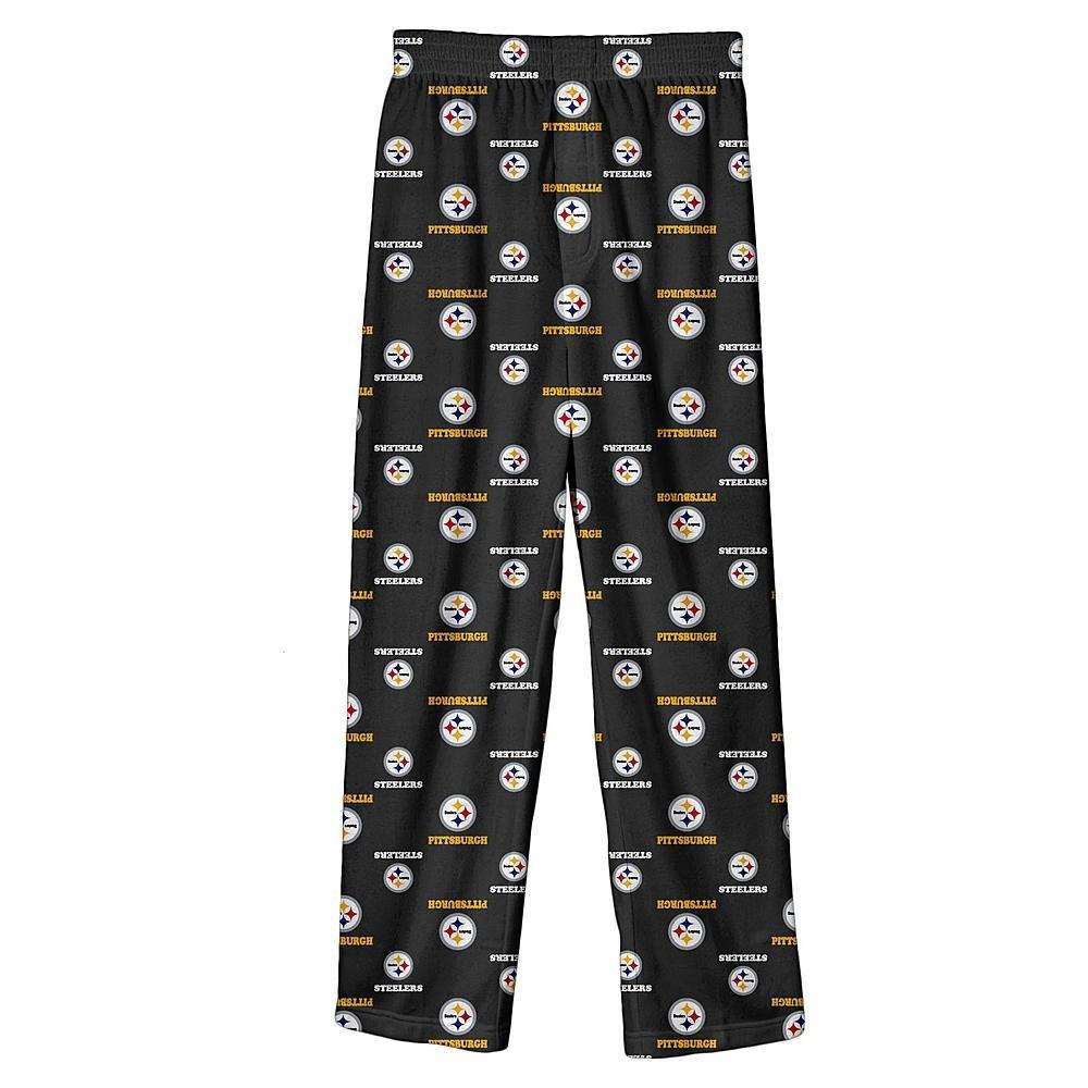 大人の上質  Pittsburgh SteelersユースサイズSmall PJ (8 ) (8 All Overチームロゴフランネルパジャマパンツ – PJ B0787GHWV1 'sブラック B0787GHWV1, カーテン加工センターヤマキヤ:8c8d7eca --- a0267596.xsph.ru