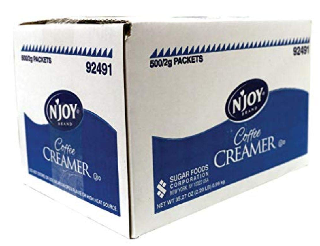 Single-Serve Non-Dairy Coffee Creamer Packets (2 Cases)