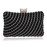 Lngciu Gorgeous Evening Bag Womens Clutch Pearl Wallet Purse