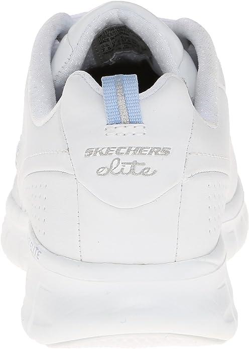 Skechers Damen Synergy Trend Setter Sneakers im sportlich, klassischem Design mit integriertem Absatz und gepolsterte Memory Foam Einlegesohle
