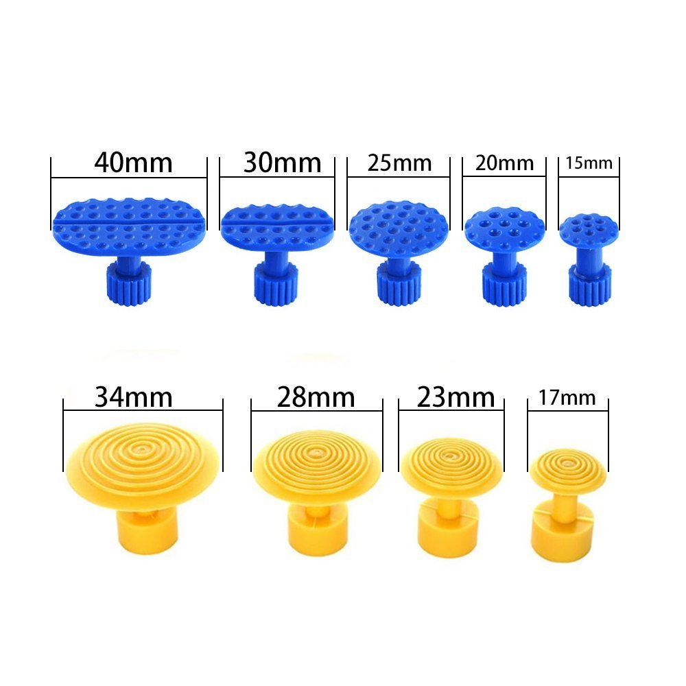 JMgist PDR Puller Tabs Dent Repair Tools Hot Melt Glue Sticks Set for Car Dent Paintless Removal Kit 29pcs by JMgist (Image #2)