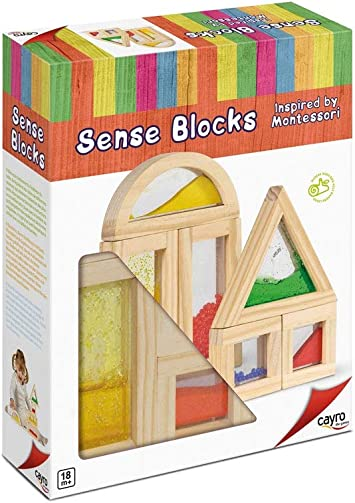 Cayro - Sense Blocks Inspired by Montessori-Juego de ingenio - Desarrollo de Habilidades cognitivas - Juego de Mesa (8171): Amazon.es: Juguetes y juegos