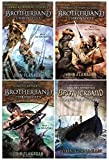 Brotherband Chronicles 4 Book set:The Outcasts, The Invaders, The Hunters, Slaves of Socorro [Brotherband Chronicles]
