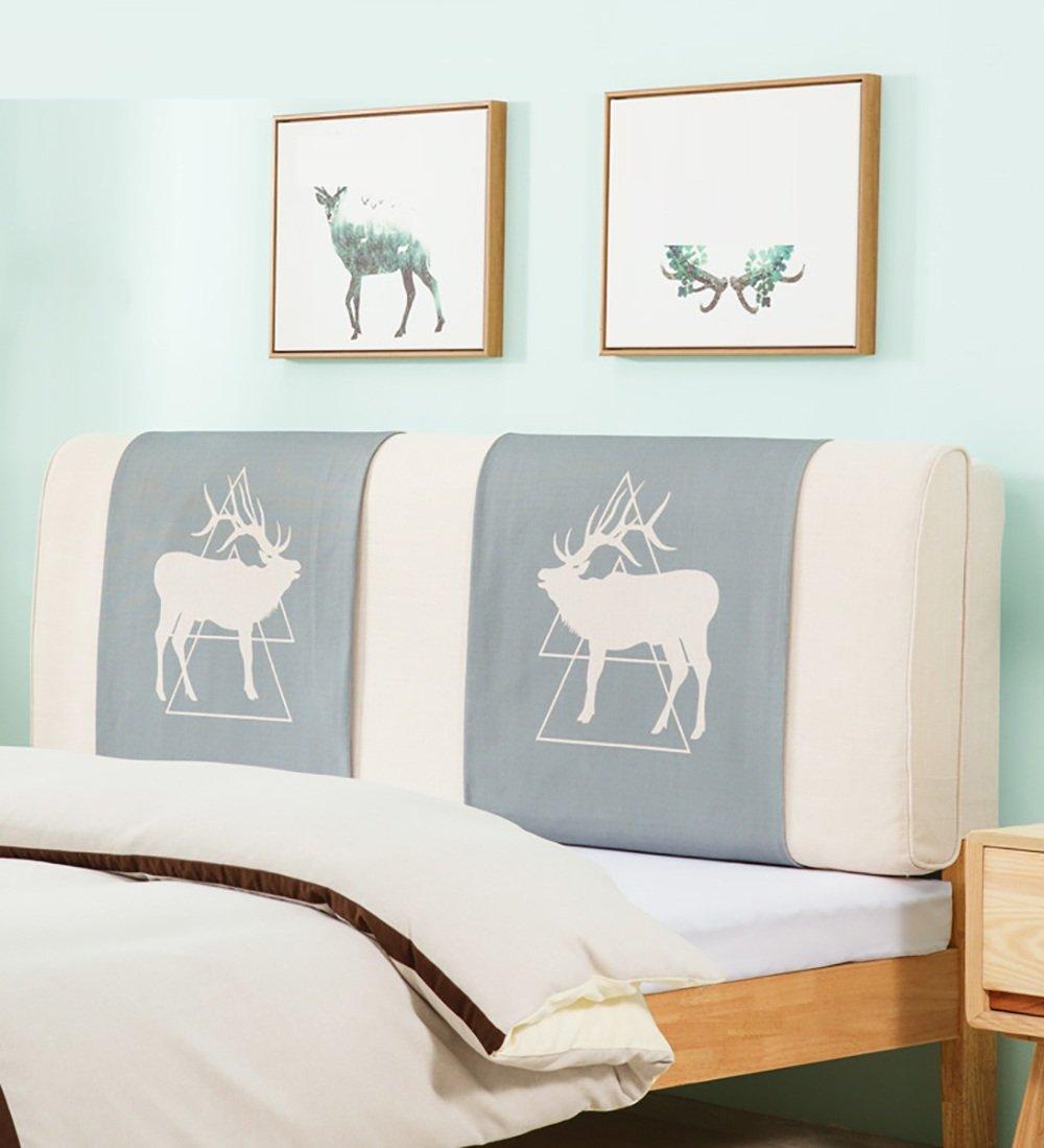 LIQICAI Moderne Tête de lit Coussin Dossier Soutien pour Unique - Double - Grande taille- Lit Têtes de lit Couverture