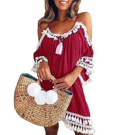 Vestidos De Fiesta Mujer, Yesmile Vestido de Fiesta Corto de ...