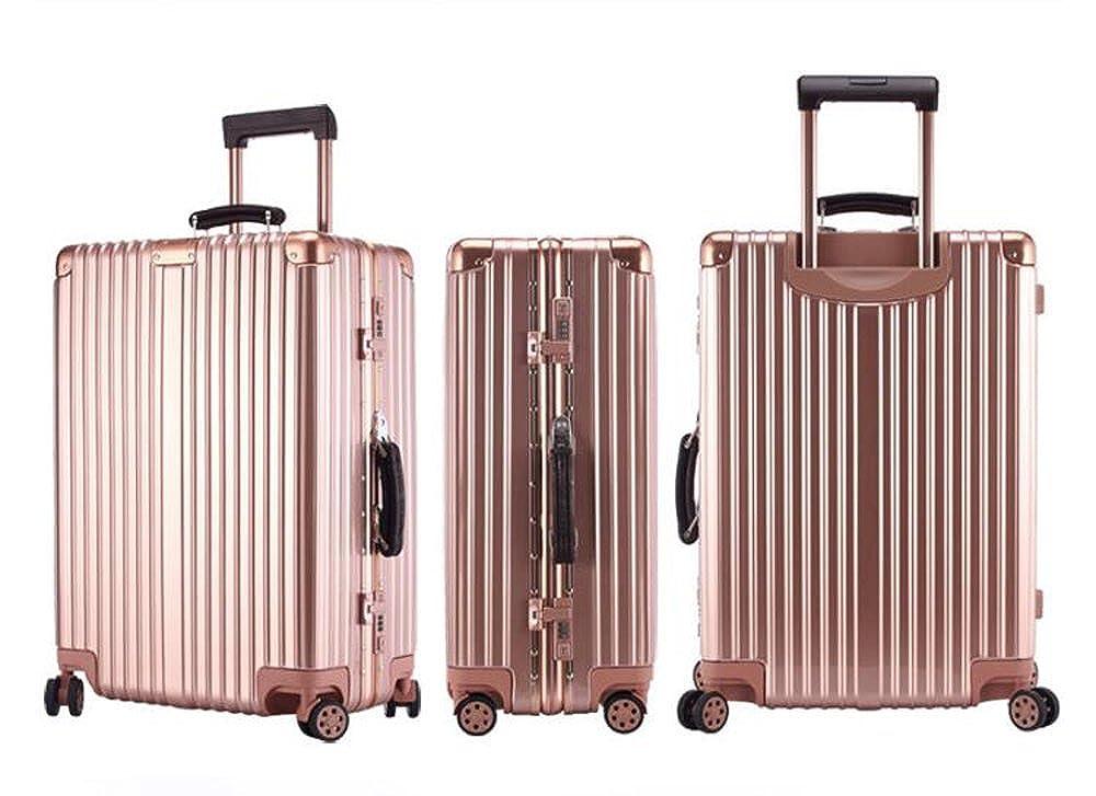 cas-01 TSAロック搭載 スーツケース キャリーバッグ  旅行必須品 トランク B06XSFPQ9G  ピンク 20インチ