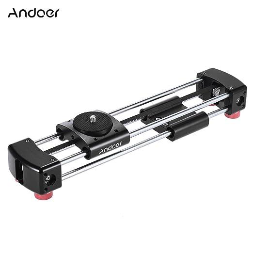 2 opinioni per Andoer GT-V250 Mini Manuale Track Slider Doppio Scorrevole Binario 365
