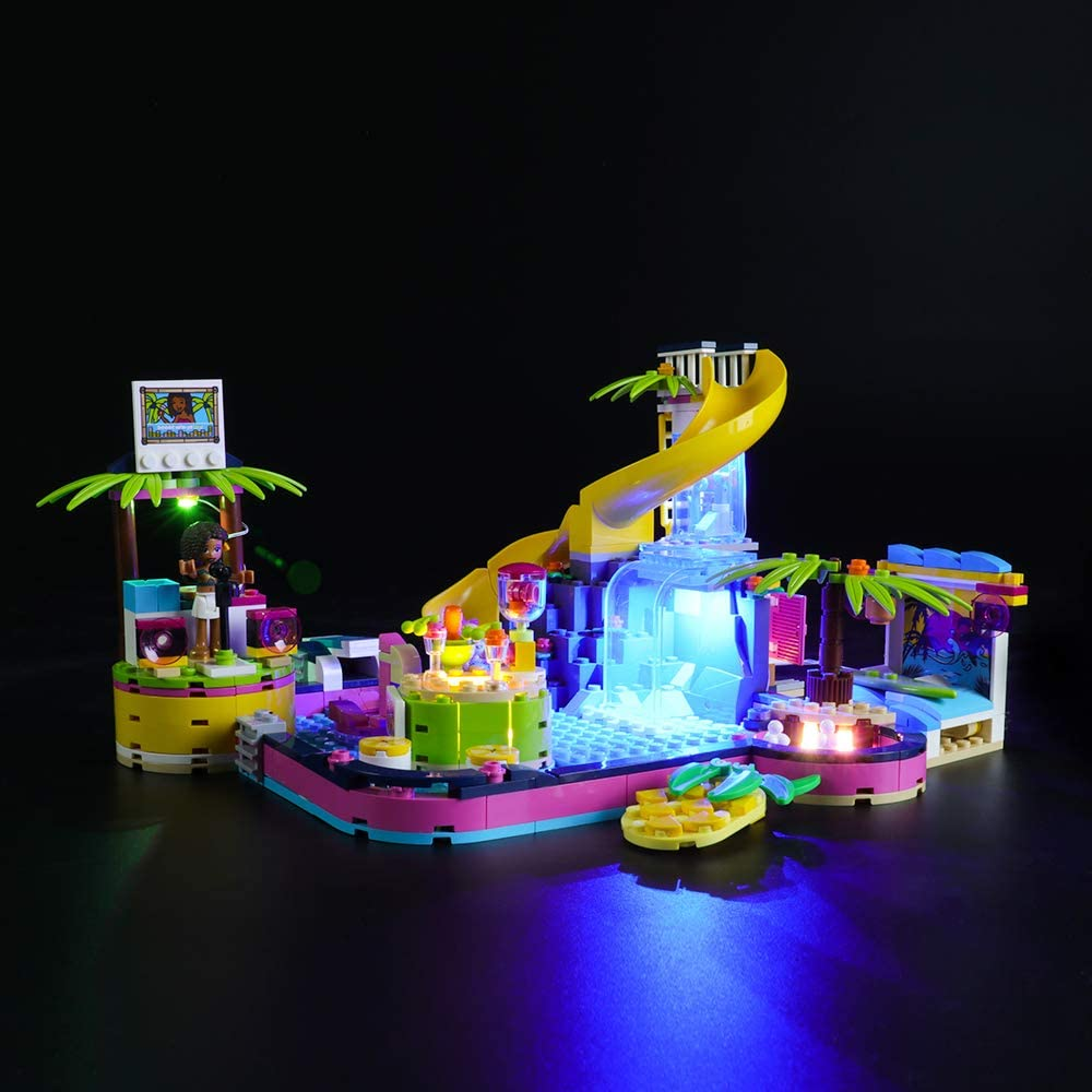 LIGHTAILING Light Set for Led Light kit Compatible with Lego 41374 Friends Andreas Pool Party NOT Included The Model Building Blocks Model