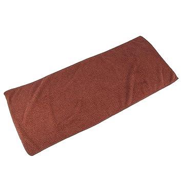 Toalla para secarse el cabello Toalla súper absorbente Microfibra Toallas secas para acampar, practicar yoga en la playa y nadar: Amazon.es: Belleza