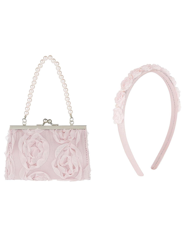 Accessorize - Cartera de mano de Sintético para mujer, Rosa (rosa), talla única: Amazon.es: Zapatos y complementos