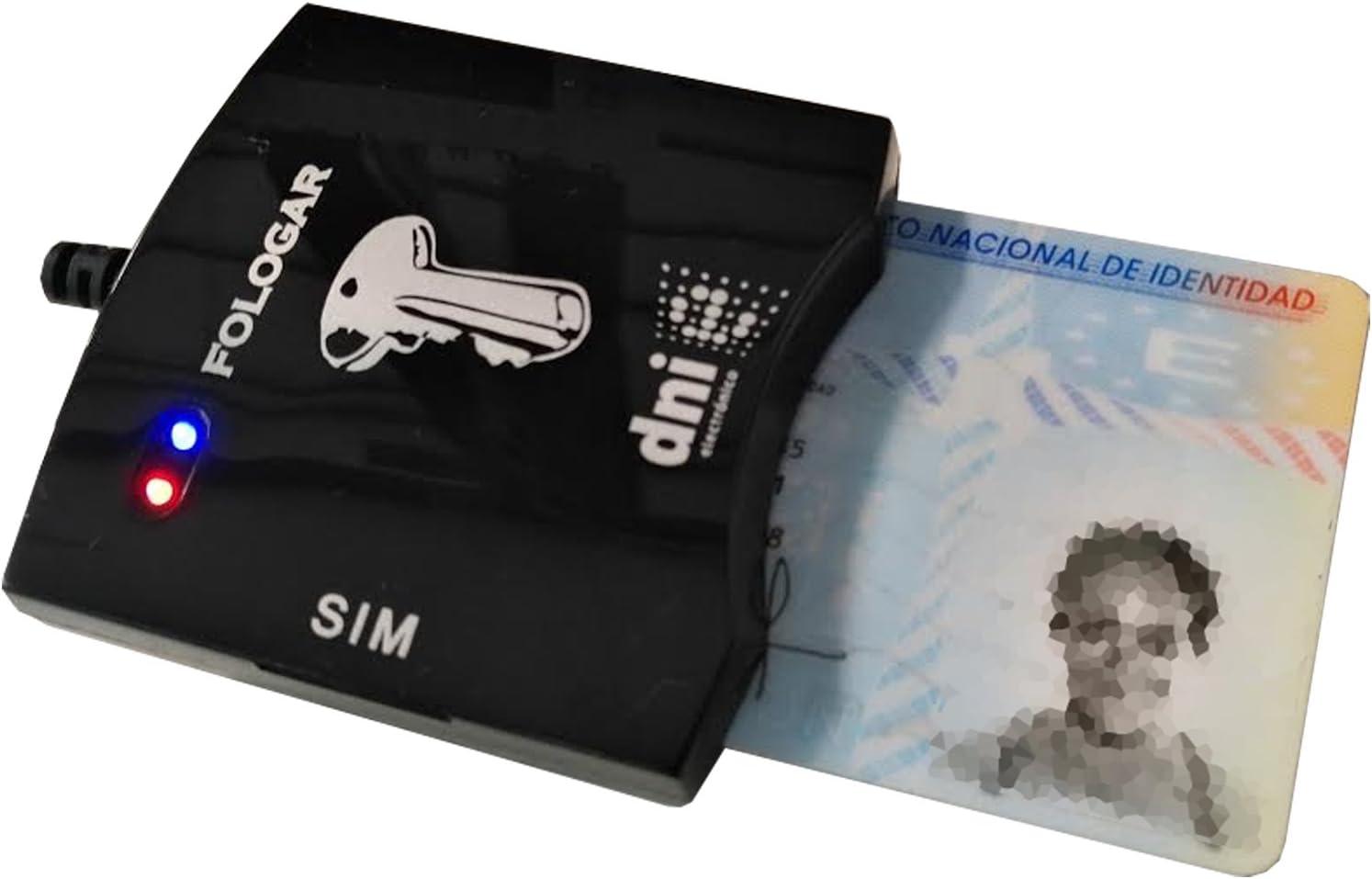 Red_Planet Lector DNI Electrónico, Tarjetas SIM y Micro SIM: Amazon.es: Electrónica