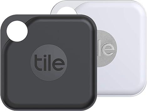 Tile Pro 2020 Bluetooth Schlüsselfinder 2er Pack 120m Reichweite 2 Jahre Batterielaufzeit Inkl Community Suchfunktion Ios Und Android App Kompatibel Mit Alexa Und Google Home 1xschwarz 1xweiß Navigation