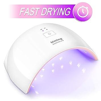 Amazon.com : Nail Dryer UV Nail Lamp Fast Drying Gel Nail Polish ...